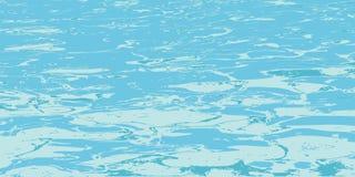 Texture de l'eau de piscine illustration stock