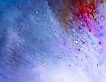 Texture de l'eau et de peinture images stock