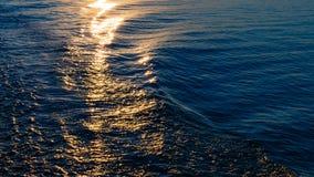 Texture de l'eau de mer photo stock