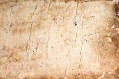 Texture de la feuille de vieux livre Image libre de droits