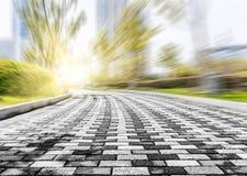 Texture de la route Images libres de droits