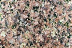 Texture de la surface polie du granit de Herefoss, macro tir Photo libre de droits