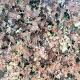 Texture de la surface polie du granit de Herefoss, macro tir Photos stock