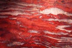 Texture de la surface rouge de montagne photographie stock