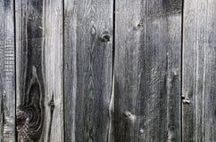 Texture de la vieille barrière en bois putréfiée Photos libres de droits