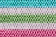 Texture de laine de Knit Photographie stock