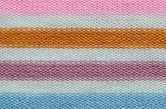 Texture de laine de Knit Photographie stock libre de droits