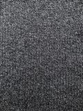 Texture de laine tricoté dans la couleur gris-bleue foncée photographie stock libre de droits