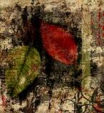 Texture de lames d'automne illustration libre de droits