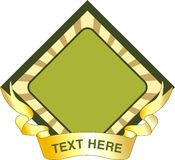 Texture de logo Photo stock