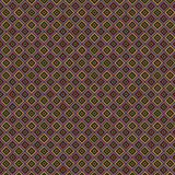 Texture de losange coloré sur un fond brun Photographie stock