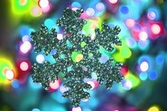 texture de lumières de Noël de couleur Image stock