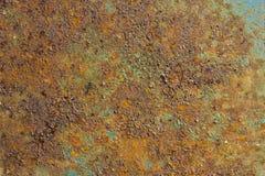 Texture de métal rouillé Photographie stock libre de droits