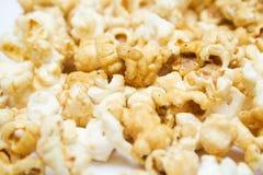 Texture de maïs éclaté Photographie stock libre de droits