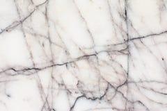 Texture de marbre blanche avec le modèle naturel pour l'oeuvre d'art de fond ou de conception Photos libres de droits