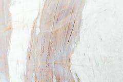 Texture de marbre blanche avec les veines sensibles Images stock