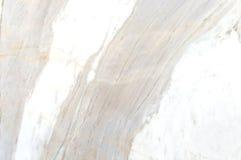 Texture de marbre blanche et grise avec les veines sensibles Image libre de droits
