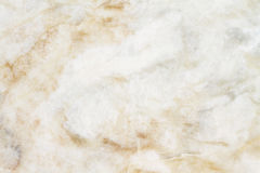 Texture de marbre blanche, structure détaillée de marbre dans naturel modelé pour le fond et conception Image libre de droits