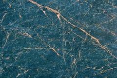 Texture de marbre bleue Photos libres de droits