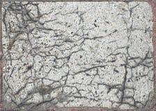 Texture de marbre criquée de grunge de brame photographie stock