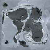 Texture de marbre décorative Peinture abstraite Fond à la mode pour l'impression et les sites Web Peintures de couleur sur le gri Photos libres de droits