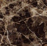 Texture de marbre foncée de Brown Emperador Photographie stock libre de droits