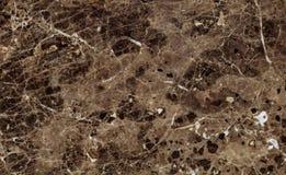 Texture de marbre foncée naturelle d'Emperador Photo stock