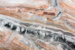 Texture de marbre naturelle abstraite de Mulicolored Photographie stock libre de droits