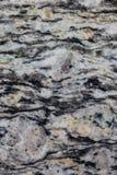 Texture de marbre noire Photo libre de droits