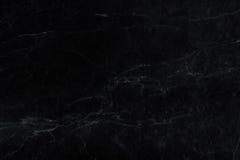 Texture de marbre noire Images libres de droits