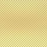Texture de modèle de pyramide d'or Photographie stock