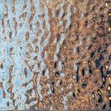 Texture de modèle de métal cannelé polonais image libre de droits