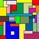 Texture de Mondrian Photographie stock