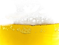texture de mousse de bière Images stock