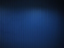 Texture de mur bleu Photographie stock