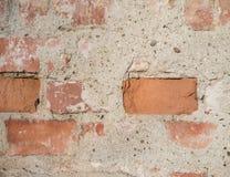 Texture de mur de briques de la vieille maison Photo libre de droits