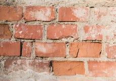 Texture de mur de briques de la vieille maison Photos libres de droits