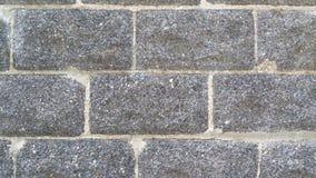 Texture de mur de briques de plâtre Photographie stock libre de droits