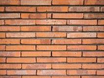 Texture de mur de briques de vintage de Brown Image libre de droits