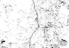 Texture de mur criqué avec le vieux plâtre Fond affligé de vecteur Image libre de droits