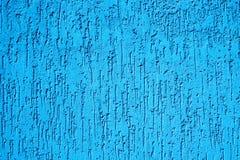 Texture de mur cyan de plâtre Image stock
