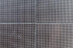Texture de mur de béton et en métal Photos libres de droits