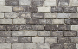 Texture de mur de briques dans le ton noir et blanc image libre de droits
