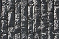 texture de mur de briques de roche Photos stock