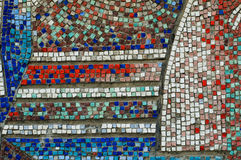 Texture de mur de mosaïque Photos libres de droits