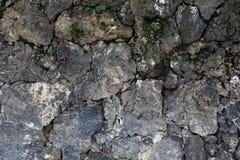 Texture de mur de roche Images libres de droits