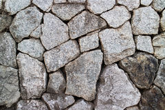 Texture de mur de roches Photo libre de droits