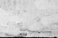 Texture de mur en béton avec le plâtre et la peinture Image libre de droits