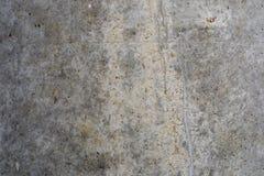 Texture de mur en béton Vieille surface avec des traces de la saleté, du temps et de l'eau abrégez le fond Images libres de droits