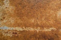 Texture de mur en métal, style du bloc 3d Images stock